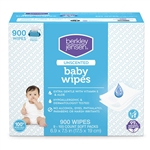 Berkley & Jensen Unscented Baby Wipes Aloe Vitamin E 900 Count