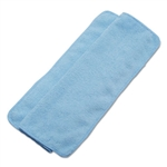"BWK-16BLUCLOTH - Boardwalk Washable Blue Microfiber Cleaning Cloths 16"" x 16"" - 24 Pack"