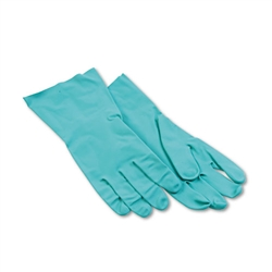 Boardwalk Nitrile Flock-Lined Gloves LARGE - 12ct