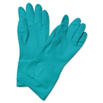 Boardwalk Nitrile Flock-Lined Gloves MEDIUM - 12ct