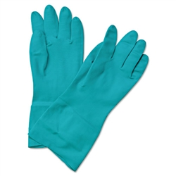 Boardwalk Nitrile Flock-Lined Gloves SMALL - 12ct