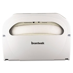 Boardwalk BWK-KD100 Boardwalk White Plastic Seat Cover Dispensers