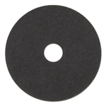 "17"" In-House Brand Black Stripping Strip Floor Pads 5ct"