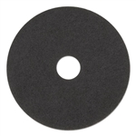 "19"" In-House Brand Black Stripping Strip Floor Pads 5ct"