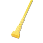"Boardwalk Model BWK 610 Jaw Clamp Style Vinyl Covered Aluminum Mop Stick Handle 60"" Length - 1 each"