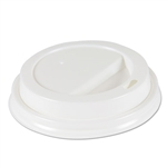 Model BWKDEERHLIDW - Boardwalk White Dome Lids Fits our House Brand 10-12-16oz, Paper Hot Cups - 1000ct