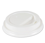 Model BWKHOTWH8 - Boardwalk White Dome Lids Fits our House Brand 8 oz, Paper Hot Cups - 1000ct