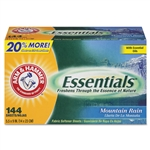 Model: CDC3320000102 - Arm & Hammer Essentials Dryer Fabric Softener Sheets Mountain Rain Scent