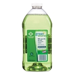 Model CLO 00457CT Clorox Green Works Natural All-Purpose Multi-Surface Cleaner 1/2 Gallon Refill Jugs - 6 x 64oz