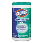 Model CLO 015949CT Clorox Disinfecting Disinfectant Wipes Fresh Scent 6 x 75ct.