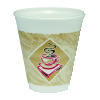 Dart Foam Cups Cafe G Design Printed Foam Cups 1000ct