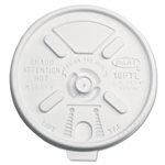 Dart Plastic Lids For Hot/Cold Foam Cups Lift N Lock 1000ct