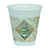 Dart Cafe G Coffee Design Printed Foam Cups 8 Ounce Foam Cups 1000ct