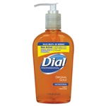 Model DIA 84014CT Liquid Dial Gold Antimicrobial Hand Soap Pumps - 12 x 7.5oz.