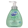 Model DIA 98609 Dial Basics Hypoallergenic Foaming Lotion Soap with Aloe 4 x 15.2oz Pump Bottles.