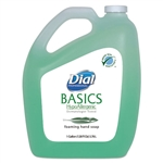 Model DIA 98612CT Dial Basics Hypoallergenic Foaming Lotion Hand Soap with Aloe 4 x 1 Gallon Refill Jugs