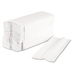 Economy C-Fold Paper Towels White In-House Brand 2400ct