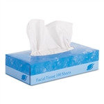 Facial Tissue In-House Brand Flat Box 2-Ply - 30 x 100ct