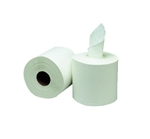 White 2-Ply Center-Pull Paper Towels In-House Brand 6 Rolls x 600
