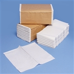 "White Single-Fold Paper Towels 9"" x 9 1/2"" Sheet Size 16 x 250ct"
