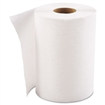 Economy White Hardwound Paper Roll Towels In-House Brand 12 x 350'