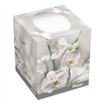KCC21270CT KLEENEX BOUTIQUE Floral Flower Box Facial Tissue