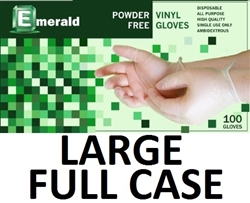 LARGE Vinyl Daycare Gloves Powder Free