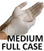 MEDIUM Latex Daycare Gloves Powder Free