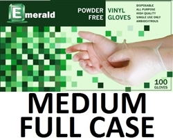 Medium Vinyl Daycare Gloves Powder Free