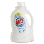 PBC49551 - Phoenix Brands AJAX Free & Clear Liquid Laundry Detergent 6 x 50-oz Bottles