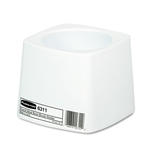 Rubbermaid Model 631100WE White Toilet Brush Holder.