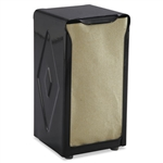 Model SJM H900BK - San Jamar Table-top Tall Fold Paper Napkin Dispenser Black - 1 Each