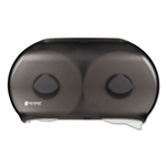 Model SJMR4000TBK - San Jamar 2-Roll Twin Jumbo Bath Toilet Tissue Dispenser Black Pearl Color Classic Design - 1 Each