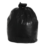 "50 - 55 - 56 - 60 Gallon Black Trash Bags - 38"" Wide x 58"" Long 1.7-MIL - Flat Packed - 100 Bags"