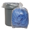 "50 - 55 - 56 - 60 Gallon Clear Trash Bags - 38"" Wide x 58"" Long 2-MIL - Flat Packed - 100 Bags"