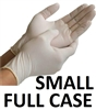 SMALL Latex Daycare Gloves Powder Free
