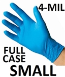 SMALL Blue Nitrile Gloves Powder Free
