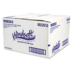 "Model WIN202 - WINDSOFT PAPER 9"" JRT Jumbo Roll Toilet Tissue Paper 12 x 1000'"