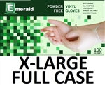 X-LARGE Vinyl Daycare Gloves Powder Free