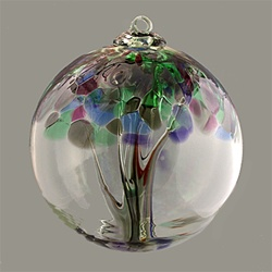 Tree of Strength Glass Ball