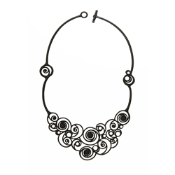 Batucada Necklace - Summer Spirals
