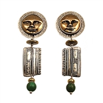 Peruvian Sun God Earrings