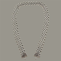 Narrow Open Weave Necklace