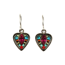 Firefly Small Heart Earring