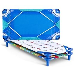 High quality colorful cot sheets.