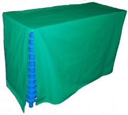 Custom high quality soft vinyl cot covers.