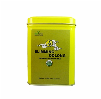 Organic Slimming Oolong tea tin