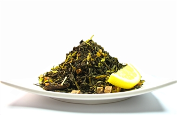 lemon natural flavored black tea