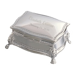 Personalized Queen Jewelry Box