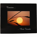 Engravable Black Photo Frame 4X6